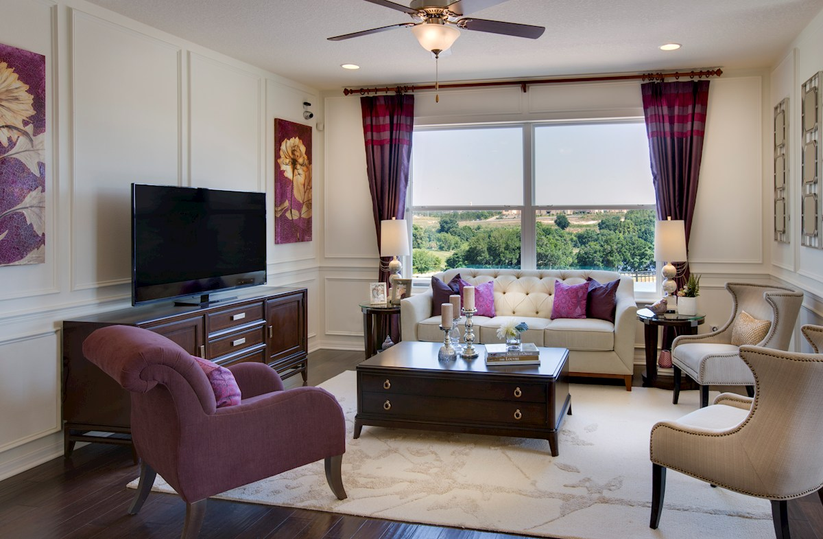 Reserve at Sawgrass Captiva open great room
