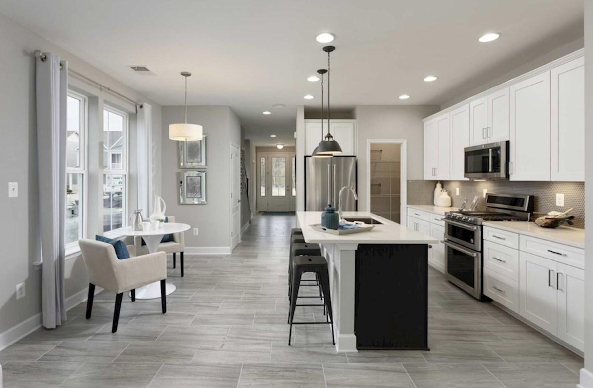 Heron's Ridge at Bayside Bethany Bethany open concept floorplan featuring designer floors