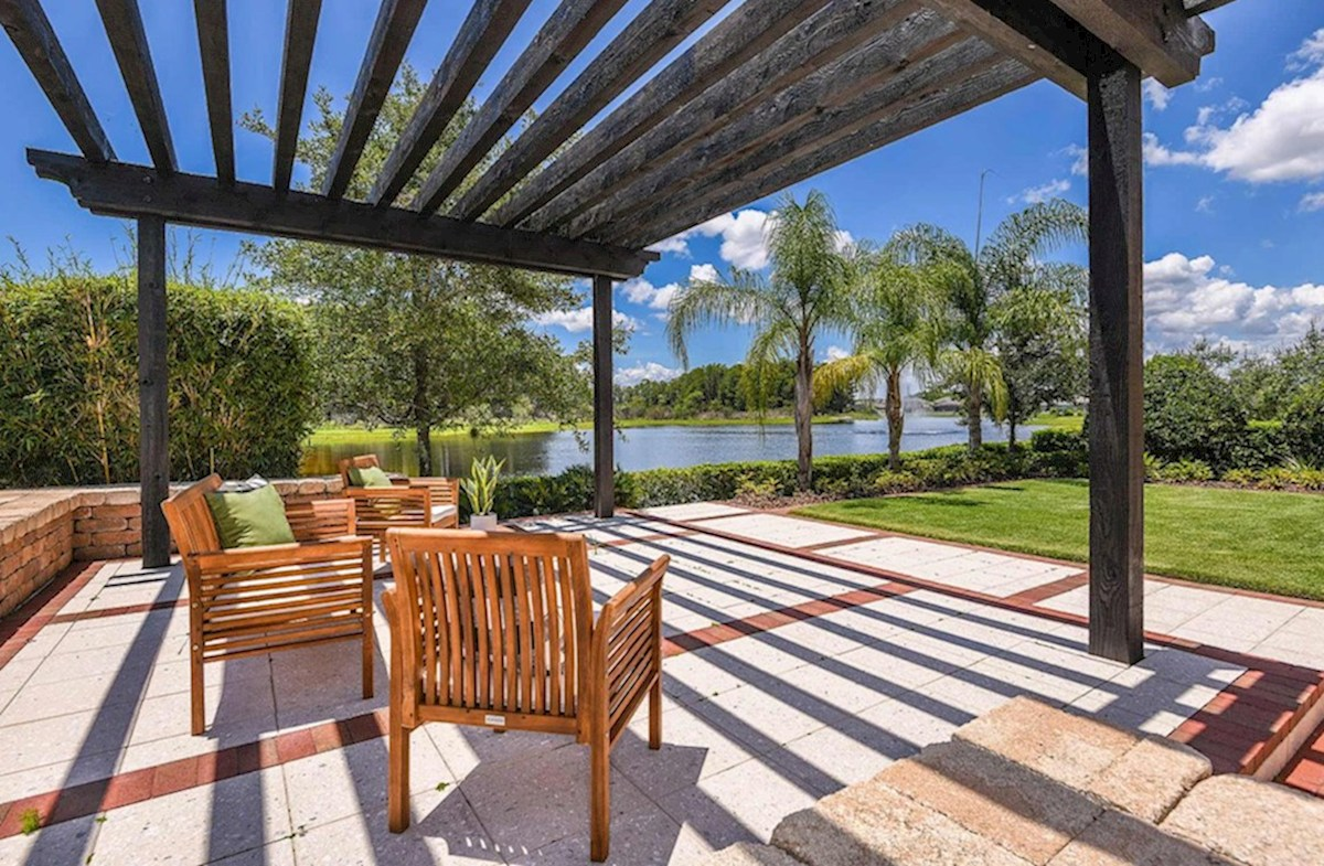 Reserve at Sawgrass Newbury II outdoor oasis