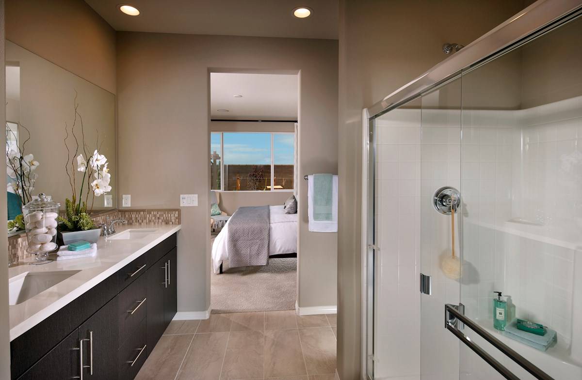 Willows at Summerly Iris Iris luxurious master bath