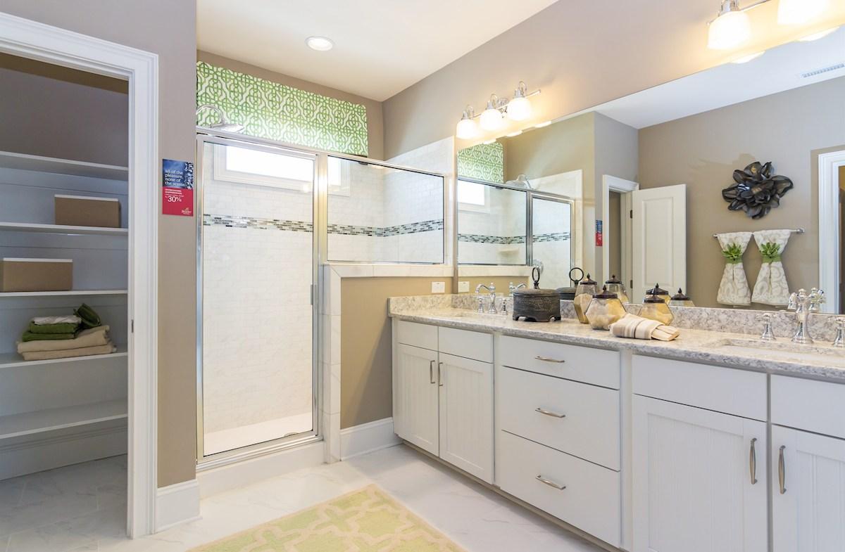 Oakwood master bathroom