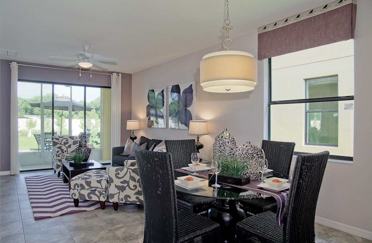 Reserve at Sawgrass St Augustine III open great room