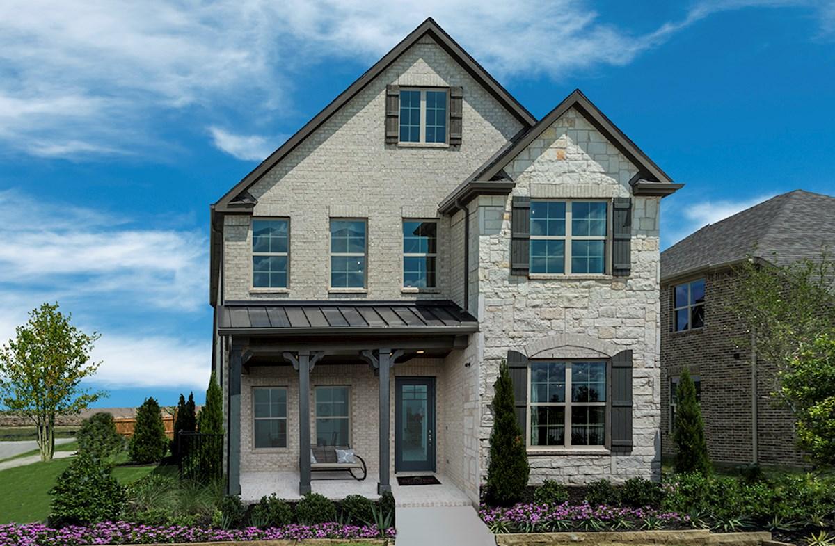 hamilton stone and brick exterior