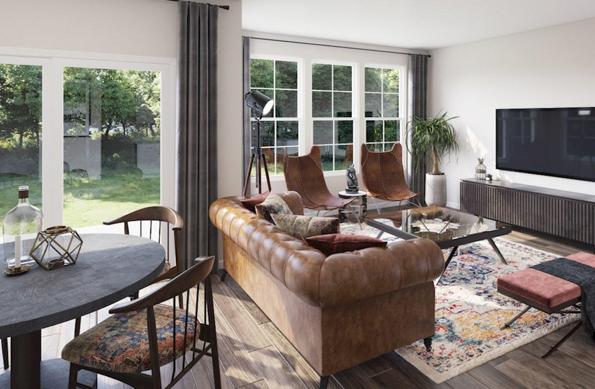 Hampton Place Waverly II Waverly II living room