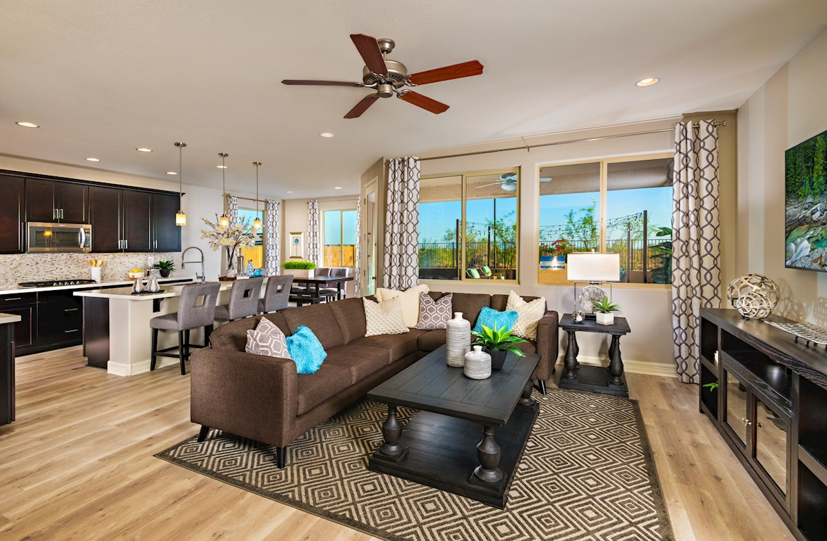 June Skies Rockwell open floorplan