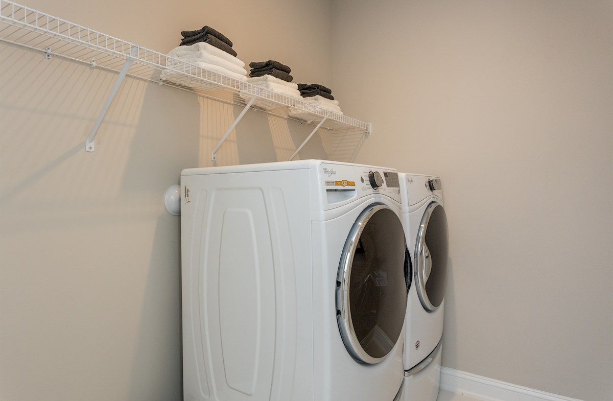 Stratford laundry room