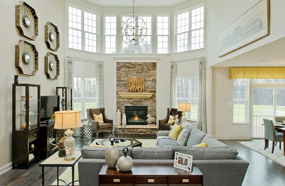Enclave at Westmount Federalsburg Plenty of natural light in the family room