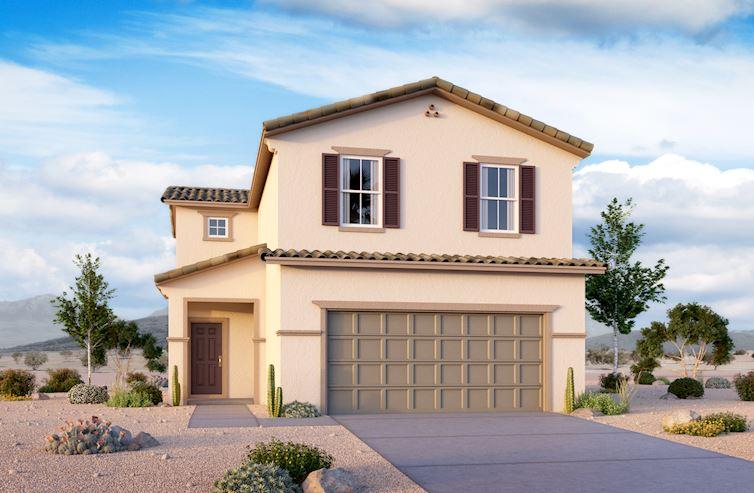 Juniper Home Plan In Cactus Ridge Las Vegas Nv Beazer