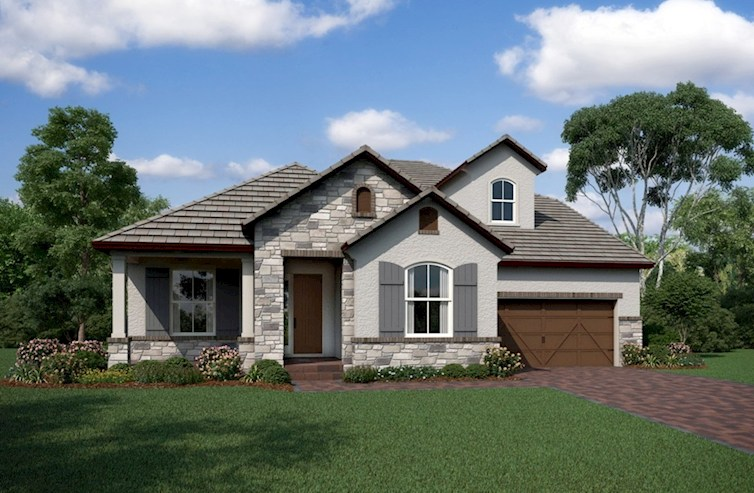 Willow Elevation French Country L quick move-in