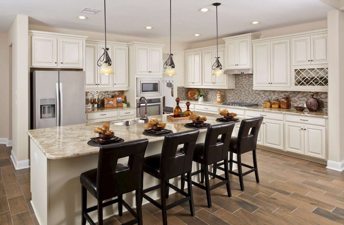 Lockhart kitchen with granite countertops