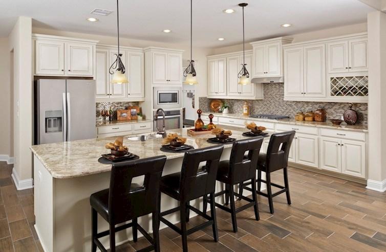 Lockhart kitchen with granite countertops