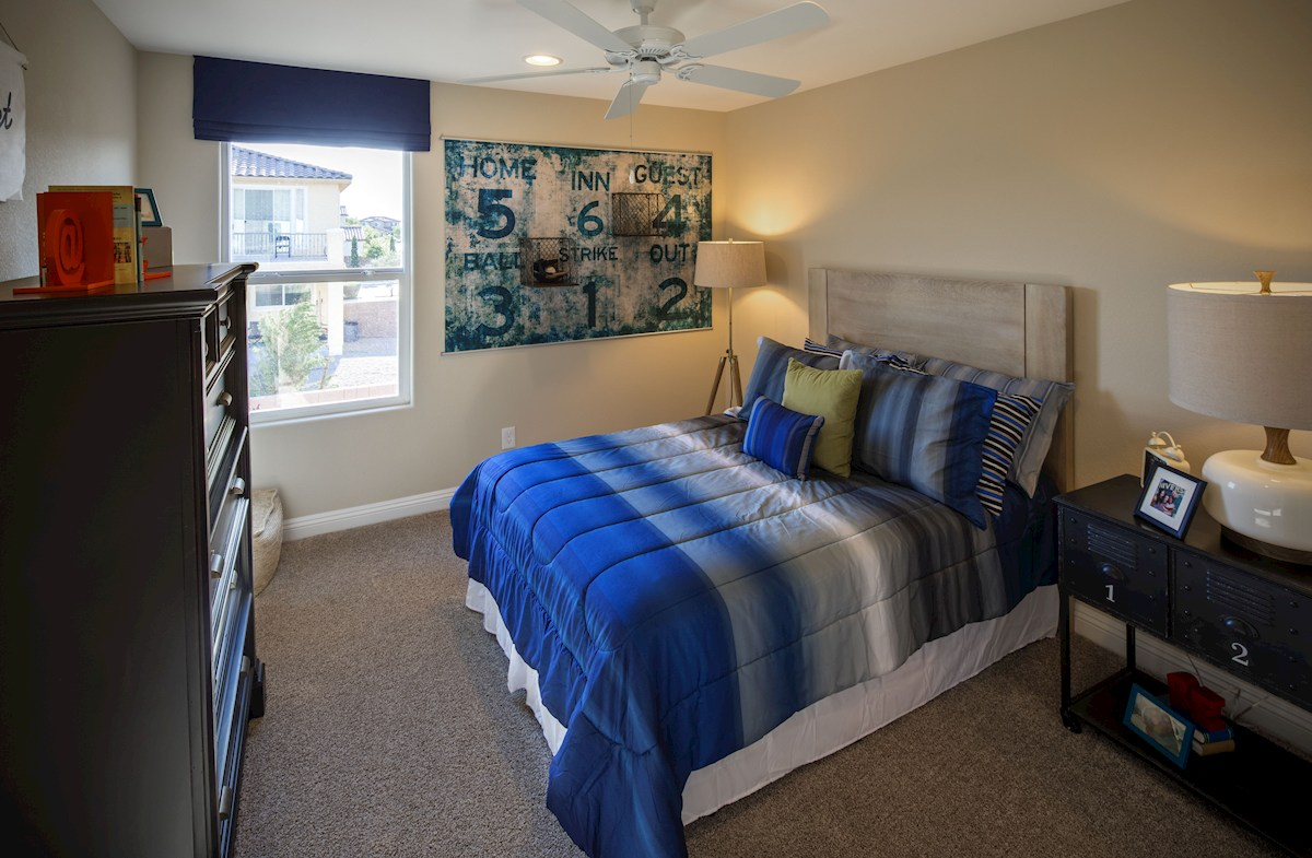 Dorrell Estates Sienna capacious and airy secondary bedrooms