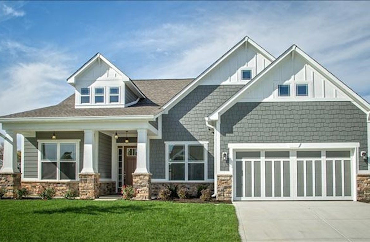 Now open! Ranch home community in Fishers!
