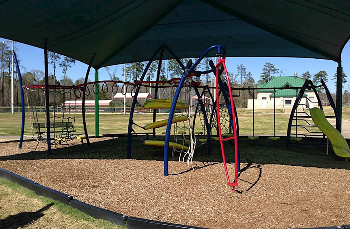 Playground located in Carl Barton, Jr. Park