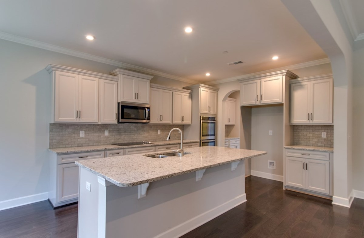 Mckinley quick move-in kitchen with center island