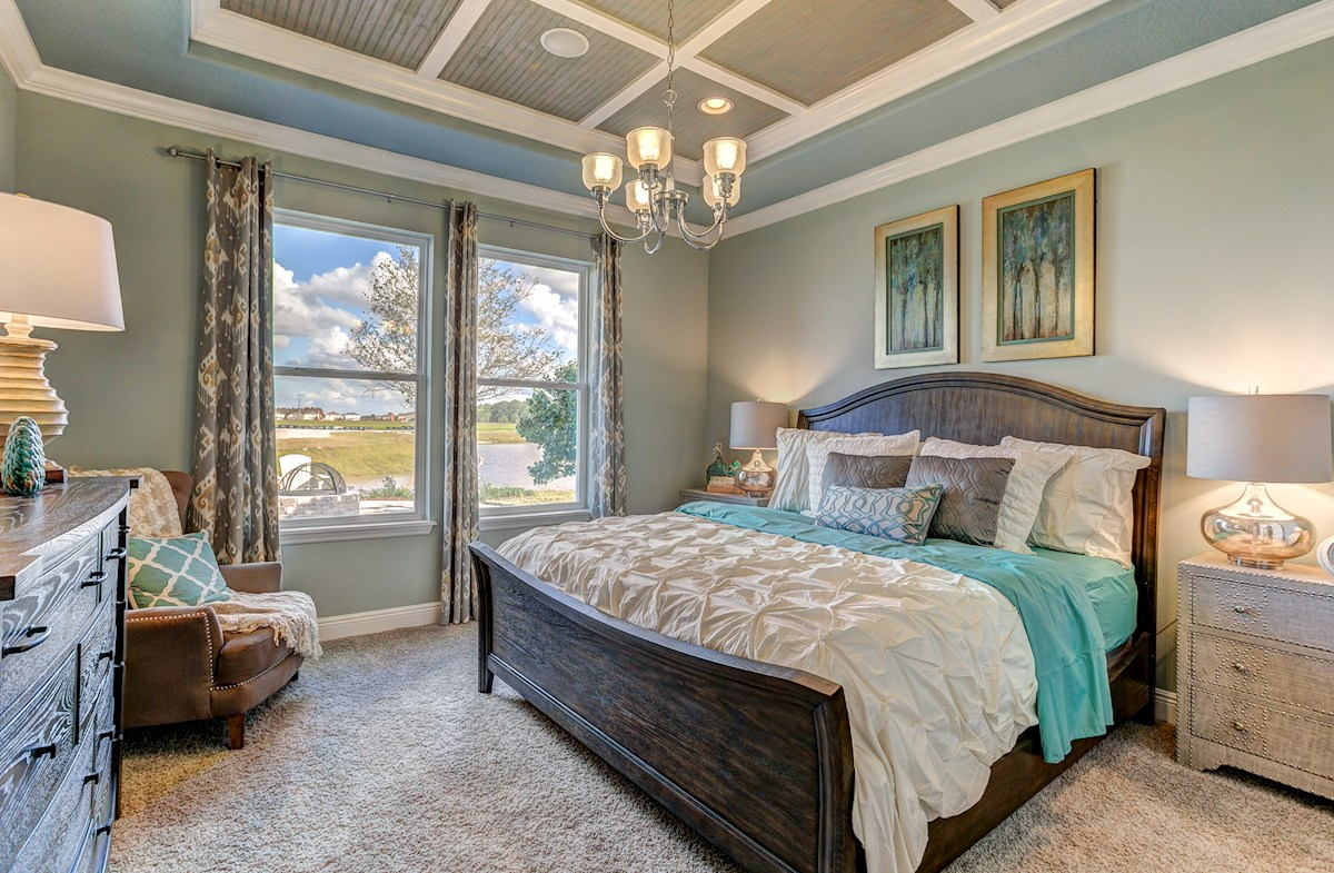 The Reserve at Pradera Madison spacious master bedroom