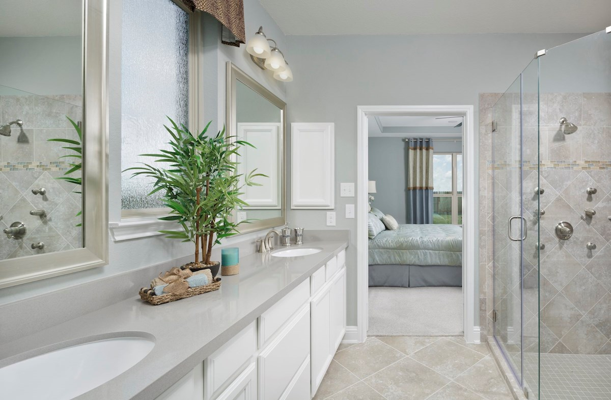 luxurious Armstrong master bath