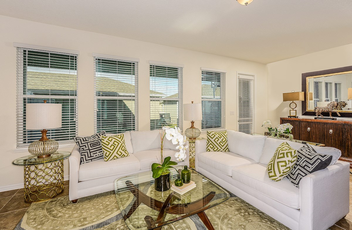 Summerlake Townhomes Augusta light-filled great room
