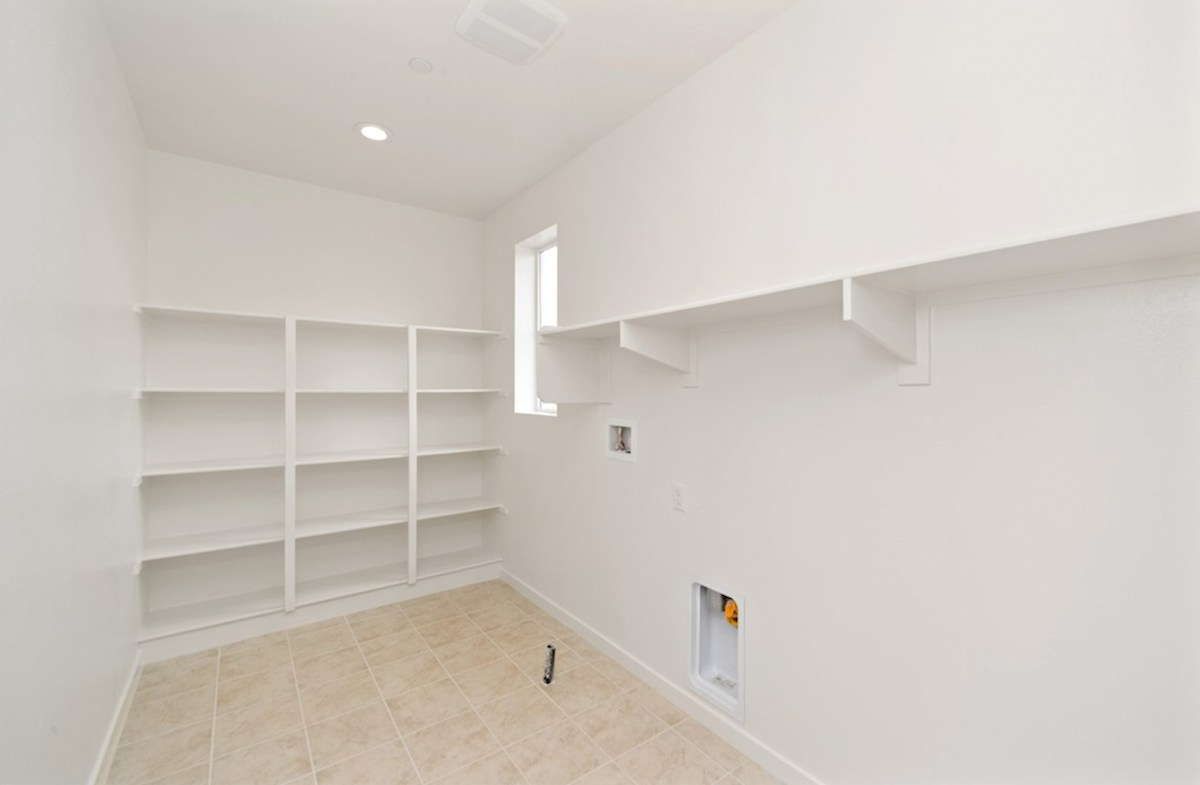 Sonoma quick move-in Abundant storage in the convenient upstairs laundry room