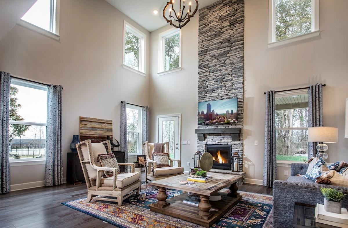 elegant great room