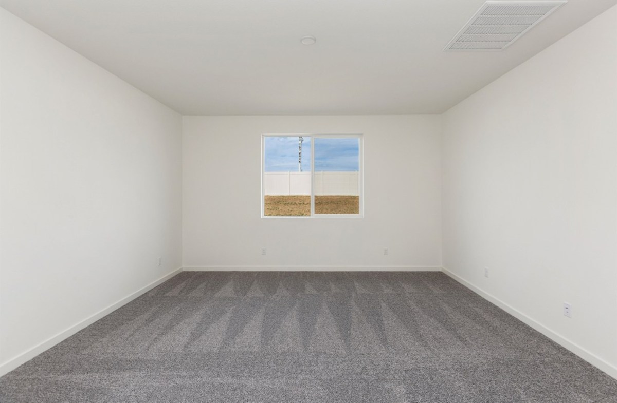 Piedmont quick move-in Master bedroom separated from secondary bedrooms to create privacy and reduce noise