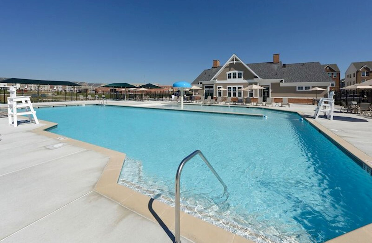Resort-style community pool