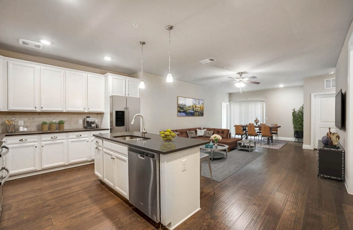 1735 Wittington Place 3104 In Gatherings At Mercer Crossing Dallas Tx Beazer Homes