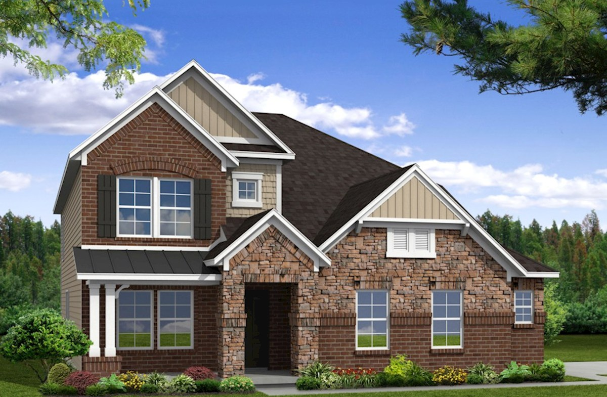 Adelaide Home Plan in Whittmore, Nolensville, TN | Beazer Homes ...