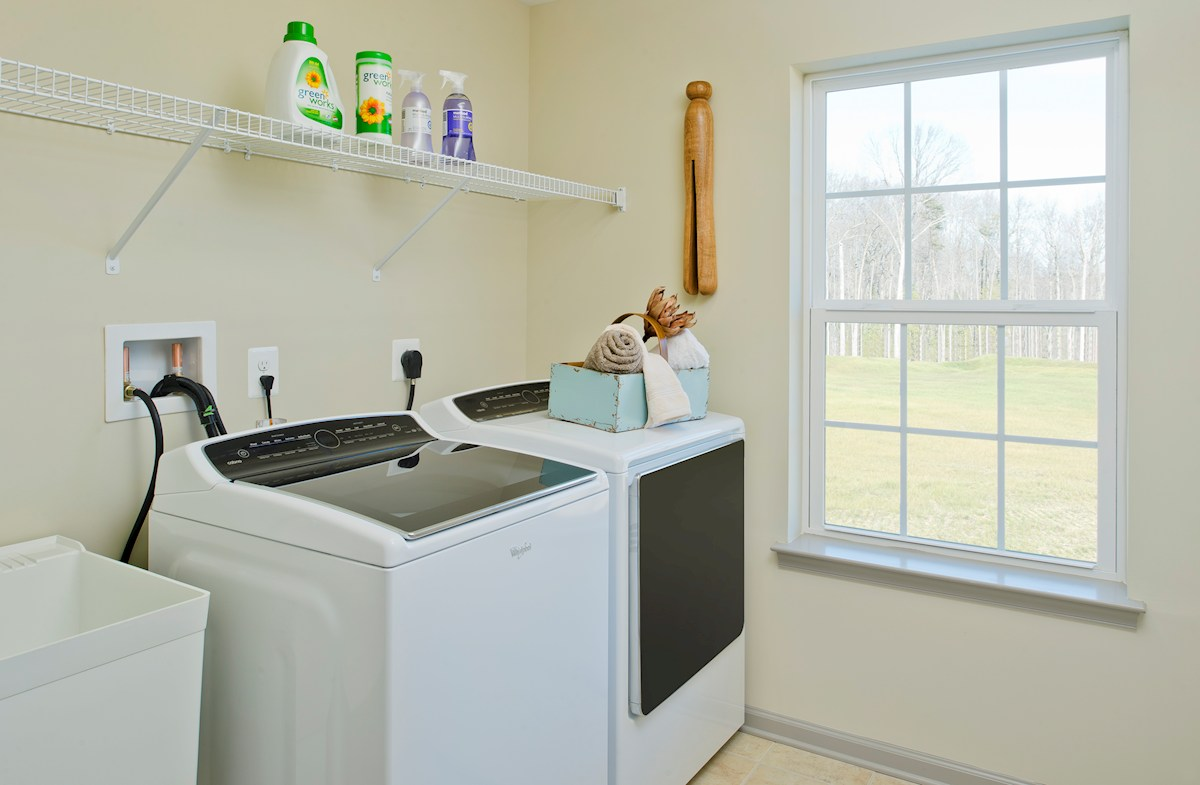Enclave at River Hill Pembrooke Conveniently located laundry room