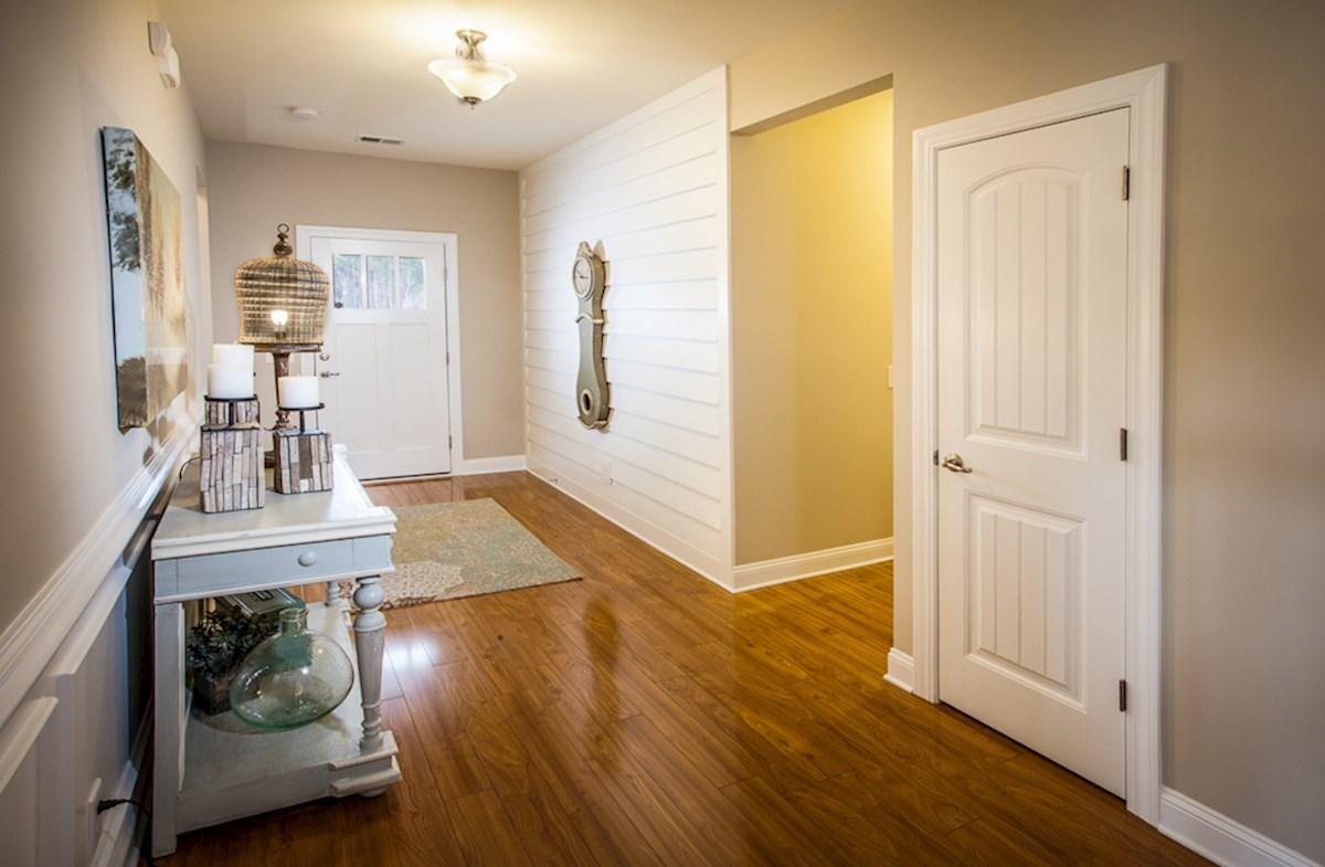 extended foyer