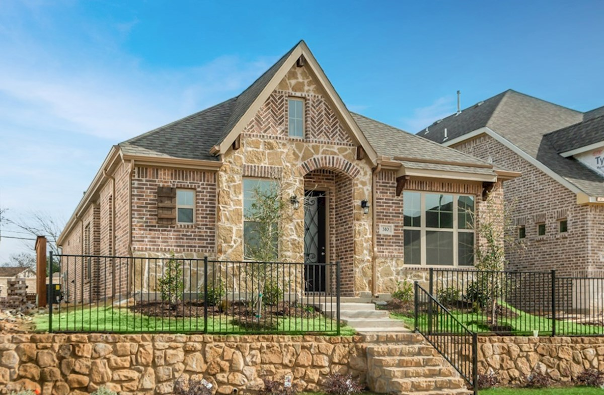 Wimberley Elevation English Revival L quick move-in