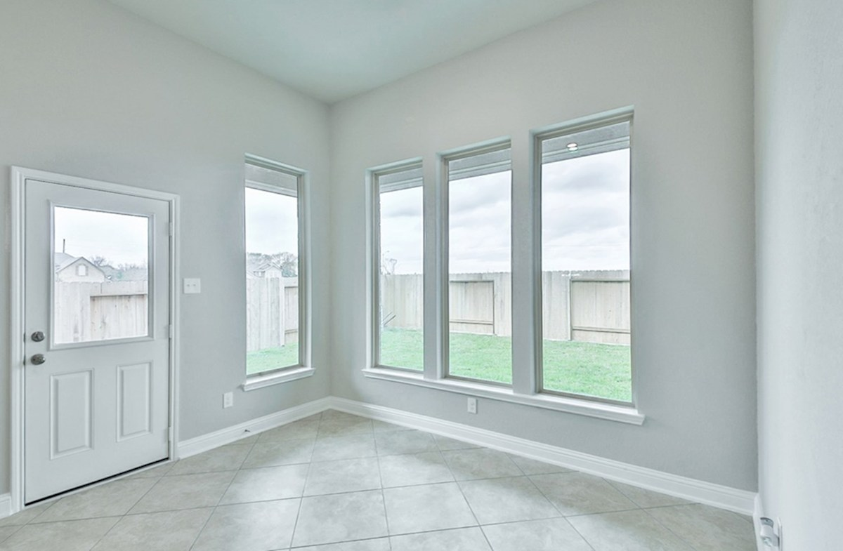 Galveston quick move-in breakfast room  with tile flooring and natural light