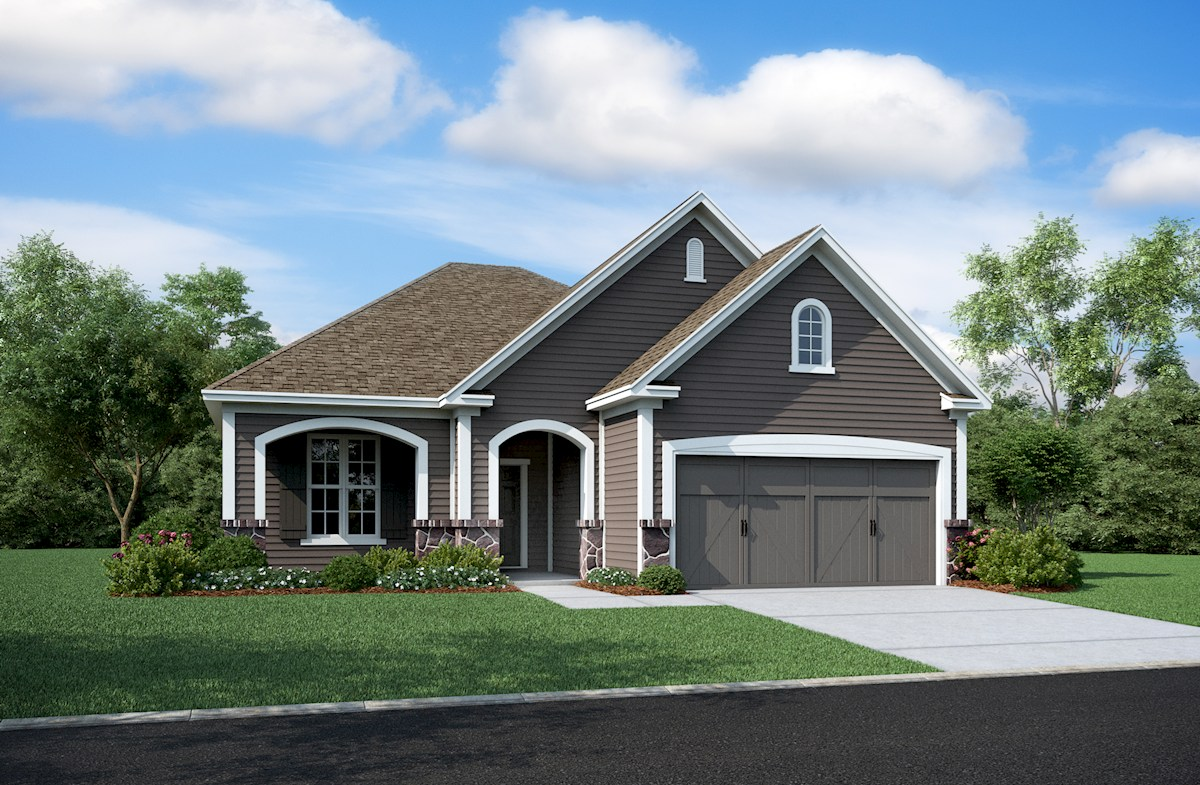 Hamilton Home Plan In West Rail At The Station Westfield In Beazer Homes Beazer Homes
