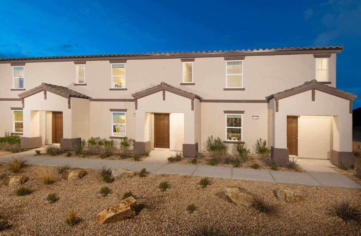townhomes with SCA elevation