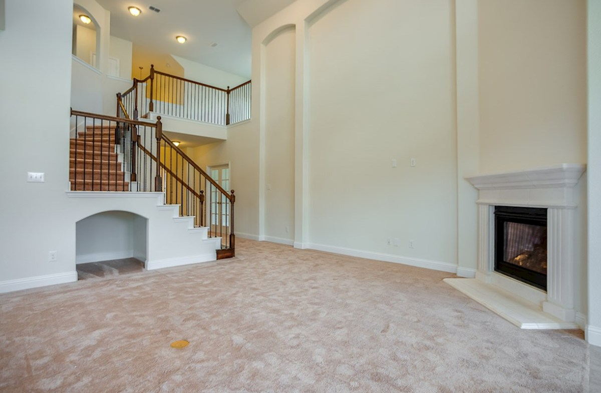 Summerfield quick move-in Tall ceilings accentuate this quick move-in home
