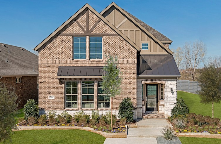 Brenham brick and stone exterior