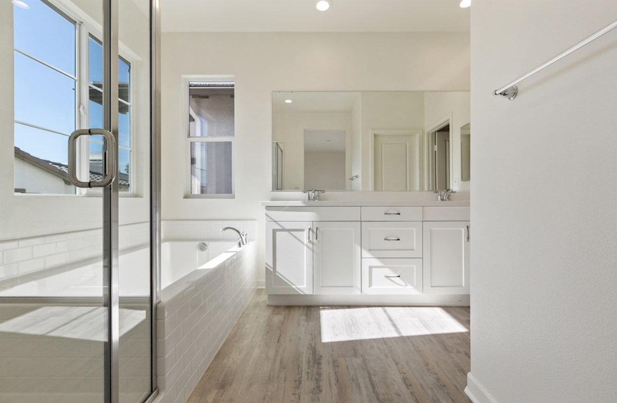 Suncup quick move-in Master bathroom with multipule windows to maximize natural light exposure