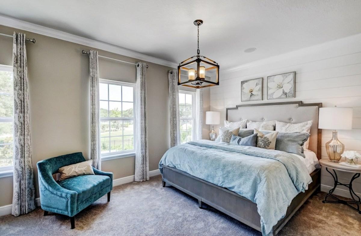 Harpeth Springs Village Vanderbilt modern master bedroom