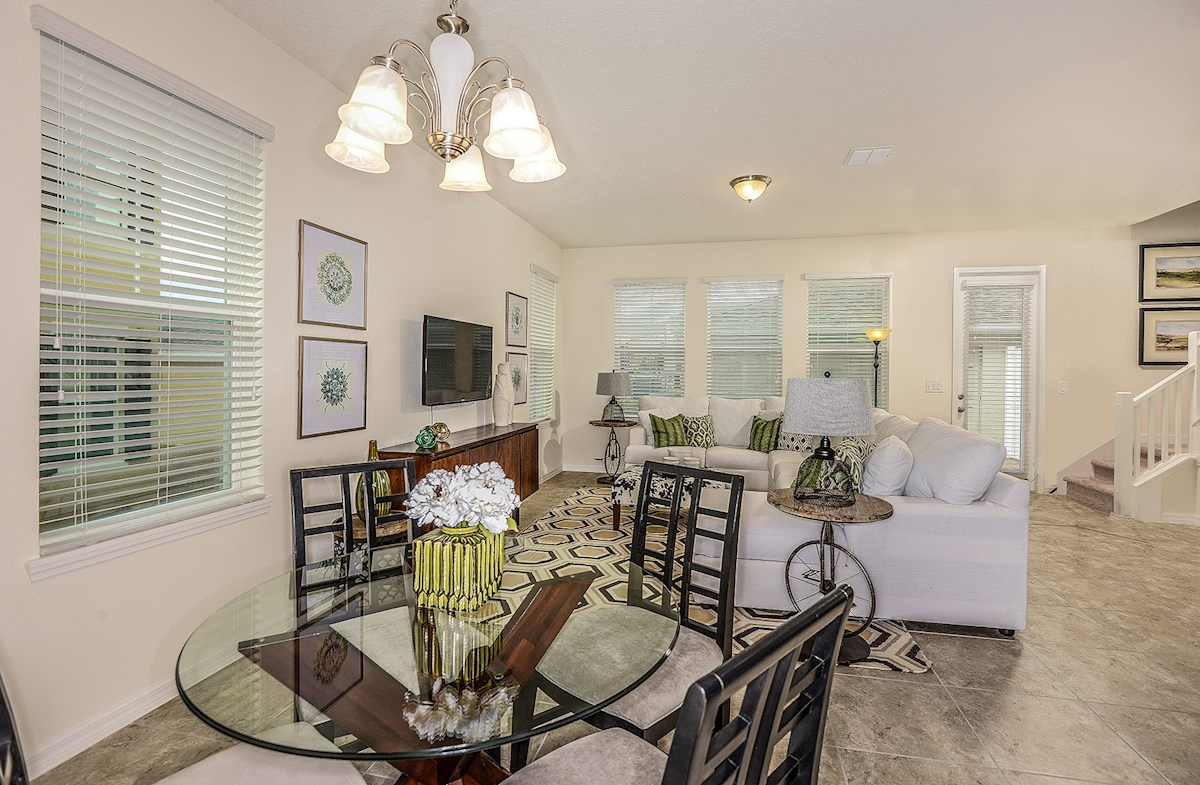 Summerlake Townhomes Concord open great room