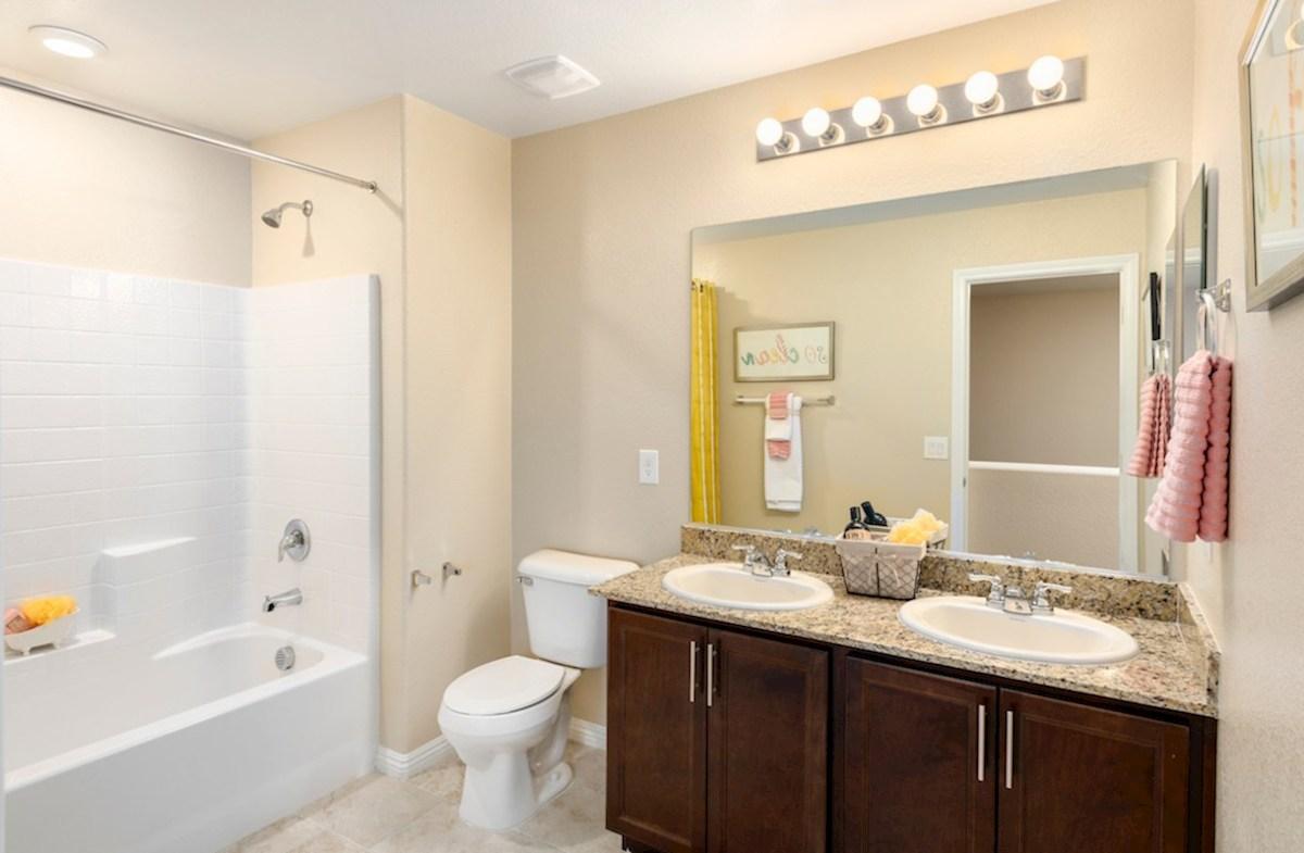 Burson Verano convenient secondary bathroom in Verano model