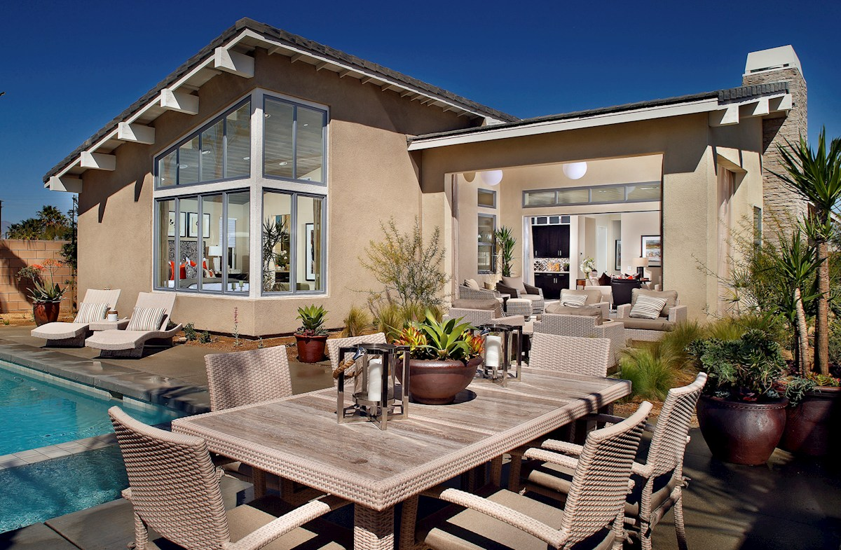 Vermillion at Escena Residence 1 Dine in style on your covered outdoor patio