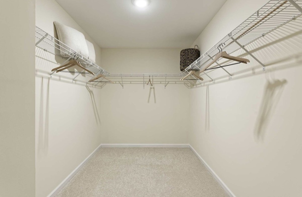 Heron's Ridge at Bayside Rehoboth Rehoboth features a spacious walk-in closet in the Master Suite