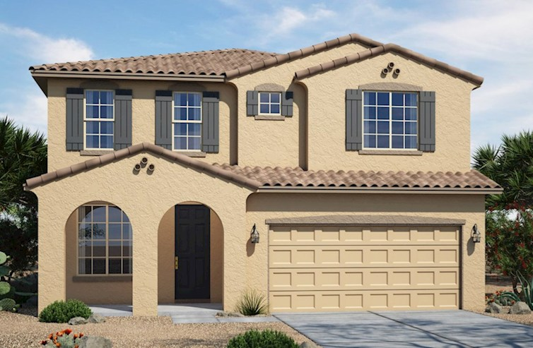 Abilene Elevation Spanish Colonial L quick move-in