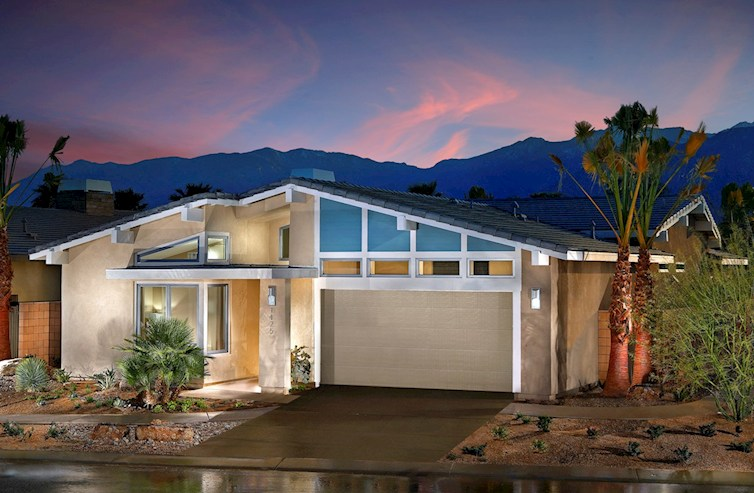 Vermillion at escena beazer homes for Palm springs mid century modern homes for sale