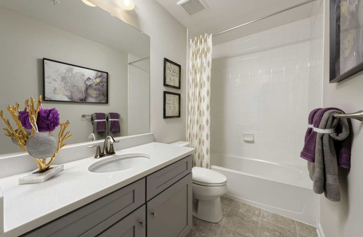 The Preserve at Windlass Run Townhomes  Vienna Vienna Secondary Bathroom