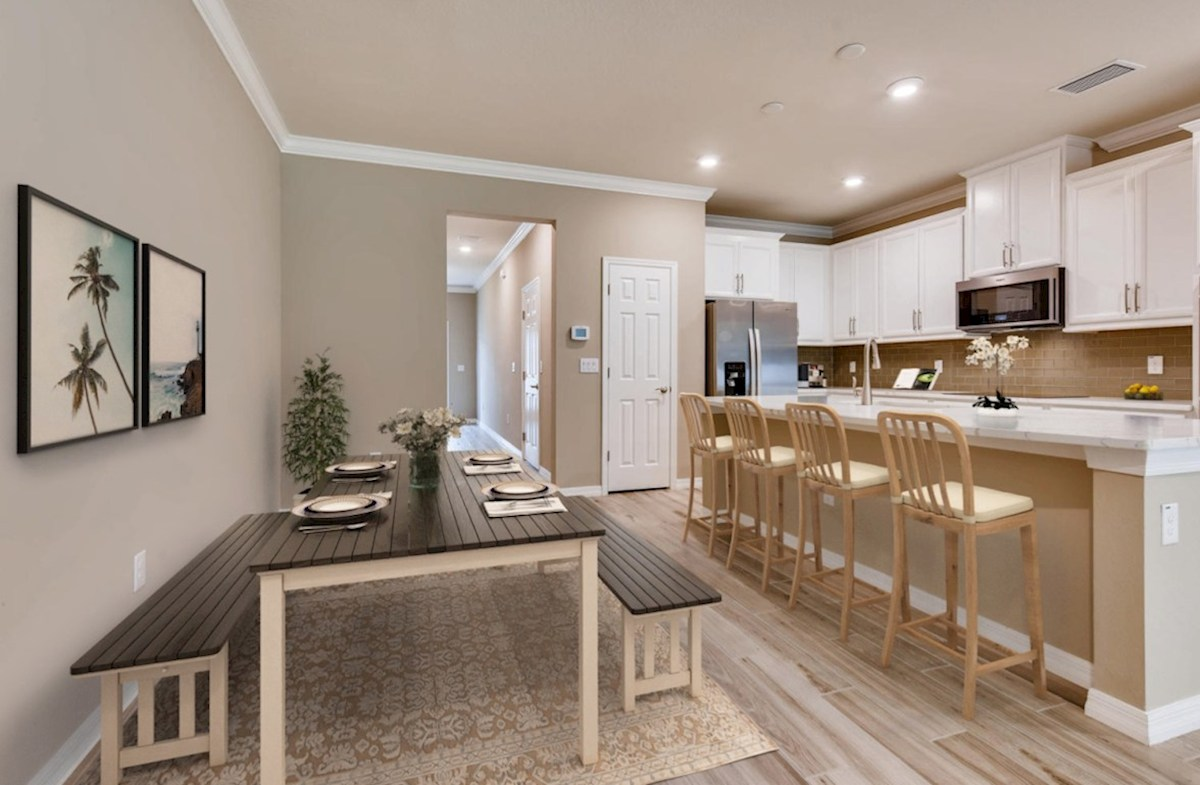 Kemerton Place Key Biscayne Spacious dining room