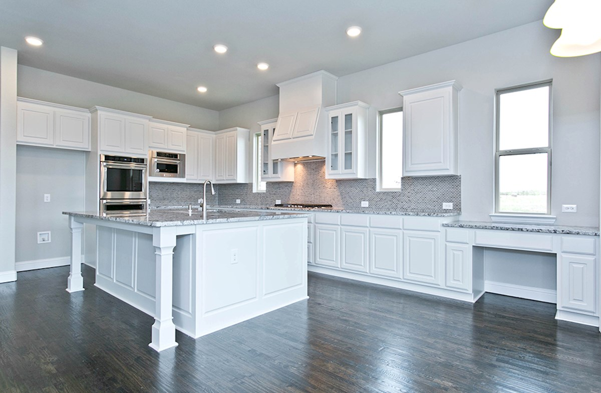Orleans quick move-in kitchen granite countertops