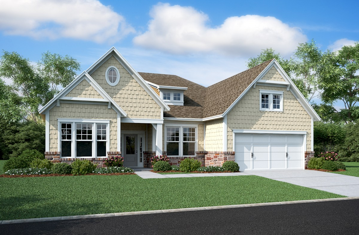 Beazer Home Design Studio Indianapolis Cambridge Home Plan In Reserve At Woodside Noblesville