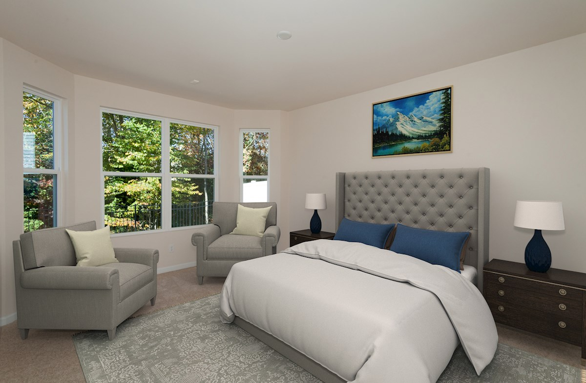 Barrington master bedroom