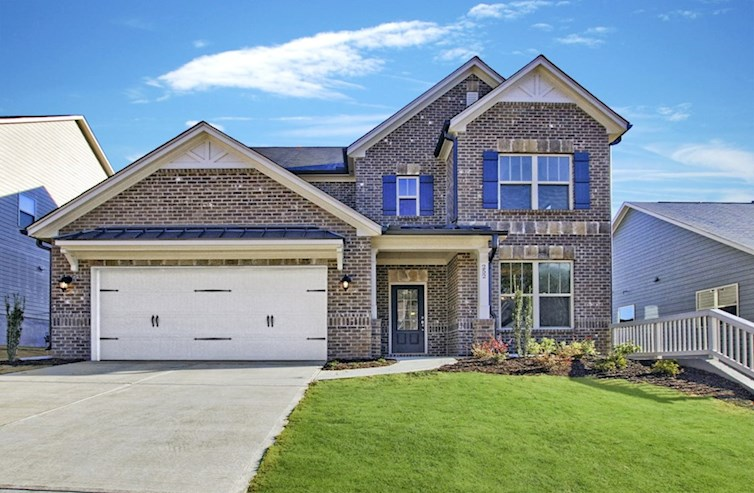Dogwood II Elevation French Country A quick move-in